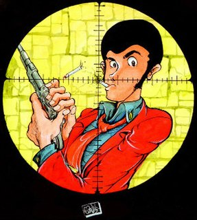 Arsène Lupin III fictional character created by Monkey Punch