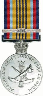 Australian Cadet Forces Service Medal Award