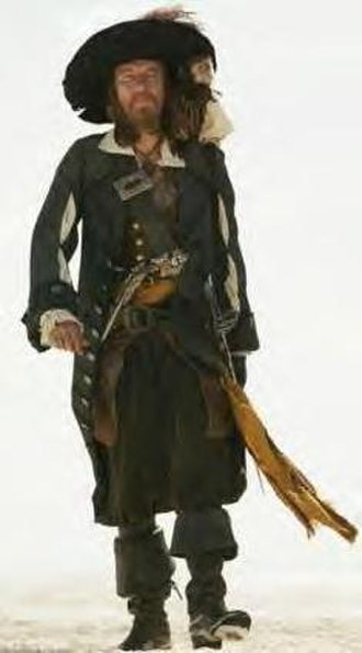 Hector Barbossa - Image: Barbossa in Pirates of the Caribbean At World's End