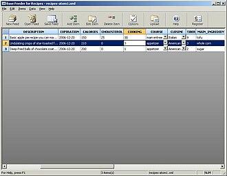 Base Feeder - Screenshot of Base Feeder for Recipes