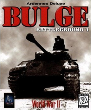 Battleground (series) - Battleground: Bulge-Ardennes cover, the first game in the series.