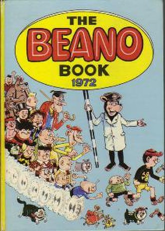 The Beano Annual - The cover of the Beano Book 1972