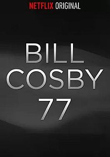 <i>Bill Cosby 77</i> 2014 Netflix produced comedy film directed by Robert Townsend