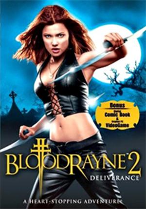 BloodRayne 2: Deliverance - DVD cover