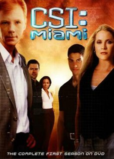 <i>CSI: Miami</i> (season 1) Season of American television series CSI: Miami