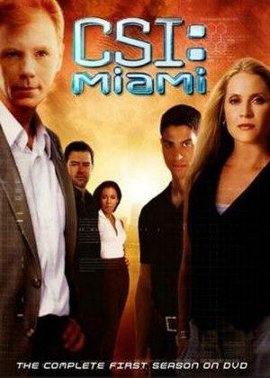 CSI: Miami (season 1) - Season 1 U.S. DVD cover