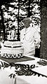 Camp Highlands Grandpa Frew with Camp Birthday Cake July 1914.jpg