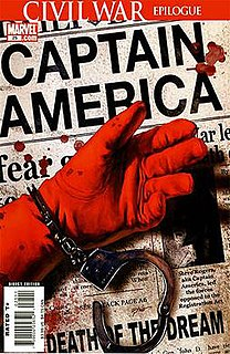 The Death of Captain America Comic-book story arc published by Marvel Comics