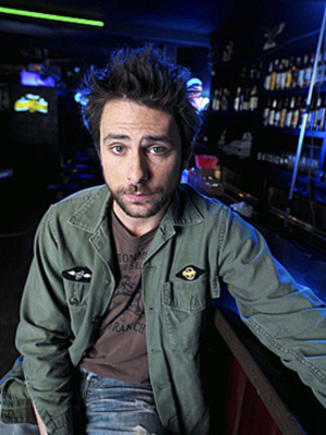 Green Man is played by Charlie Day