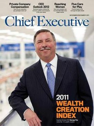Chief Executive (magazine) - Image: Chief Executive (magazine) cover