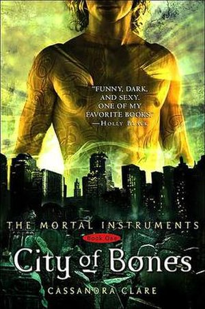 "City of Bones (Clare novel) - First edition cover for the book ""City of Bones."""