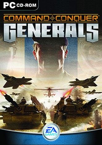 Command & Conquer: Generals - Image: Cncgen win cover