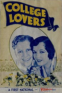 <i>College Lovers</i> 1930 film