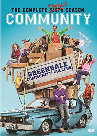 Community (season 6) - DVD cover