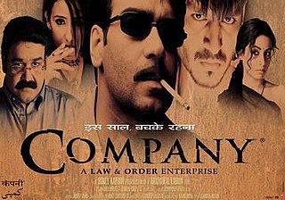 <i>Company</i> (2002 film) 2002 film by Ram Gopal Varma