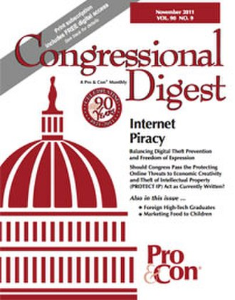 Congressional Digest - Image: Congressional Digest Cover Image November 2011