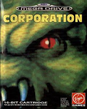 Corporation (video game) - European box art