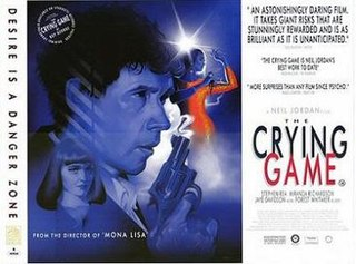 <i>The Crying Game</i> 1992 psychological thriller drama film directed by Neil Jordan