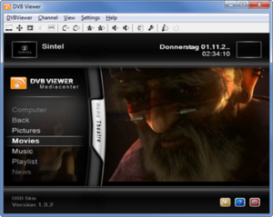 DVBViewer - Image: DVB Viewer Screenshot