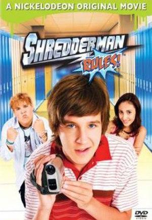 Shredderman Rules - DVD cover