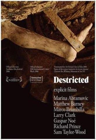 Destricted - Image: Destricted Film Poster