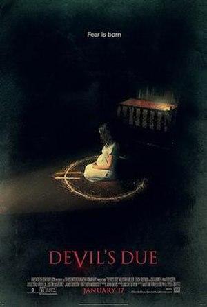 Devil's Due (film) - Theatrical release poster
