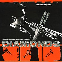 Diamonds (Herb Alpert song) single cover.jpg