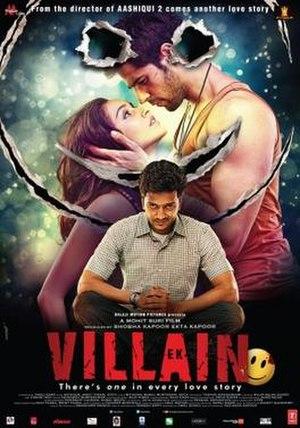 Ek Villain - Theatrical release poster