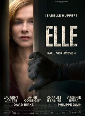 Elle (film) - Theatrical release poster