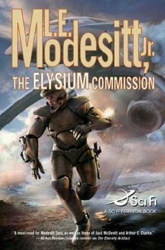 The Elysium Commission - First Edition book cover