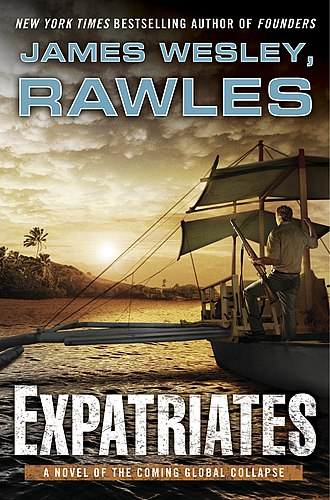 Patriots (novel series) - Cover of the first edition of Expatriates.