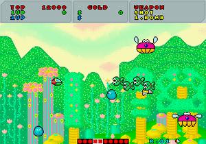 Fantasy Zone - Image: Fantasy Zone Screenshot