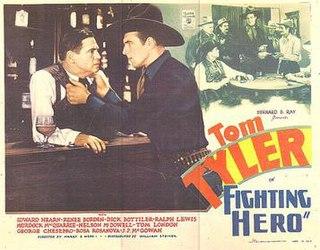 <i>Fighting Hero</i> 1934 film directed by Harry S. Webb