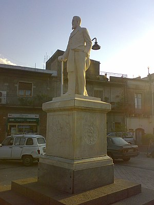 Fiumefreddo di Sicilia - Filippo Torrisi Statue.