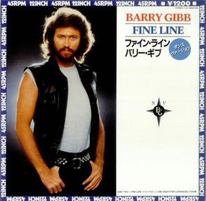 Fine Line (Barry Gibb song) - Image: Finelinebarrygibb