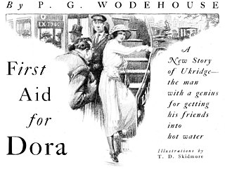First Aid for Dora 1923 short story by P.G. Wodehouse