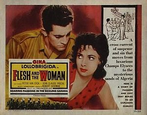 Flesh and the Woman - Image: Flesh and the Woman Film Poster
