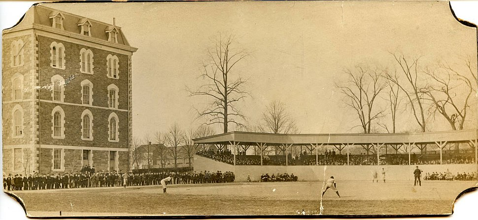 Fordham baseball field 1902