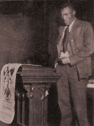 Negro Sanhedrin - Lovett Fort-Whiteman of the Workers Party of America was among the leaders of the left wing minority caucus at the Sanhedrin.