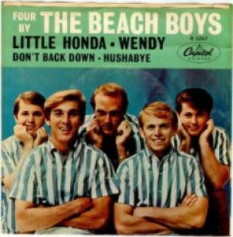Four by the Beach Boys - Image: Four by The Beach Boys
