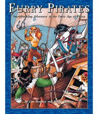 Furry Pirates - Image: Furry Pirates RPG Cover