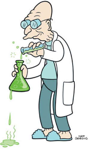 Professor Farnsworth - Image: Futurama Professor Farnsworth