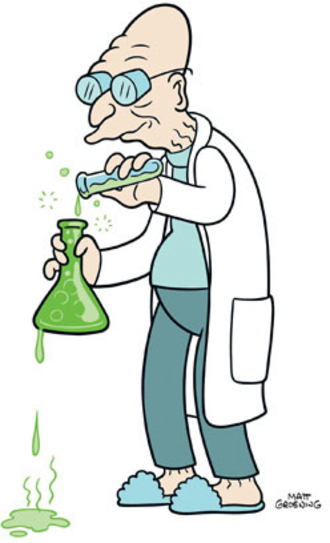 Professor Farnsworth - Professor Hubert Farnsworth