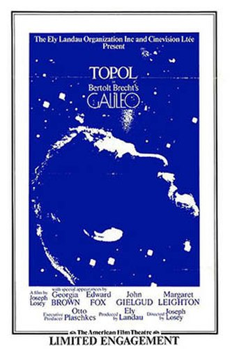 Galileo (1975 film) - Theatrical release poster (1974)