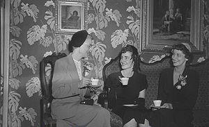 Garneau Theatre - Image: Garneau Theatre Lobby, 1950