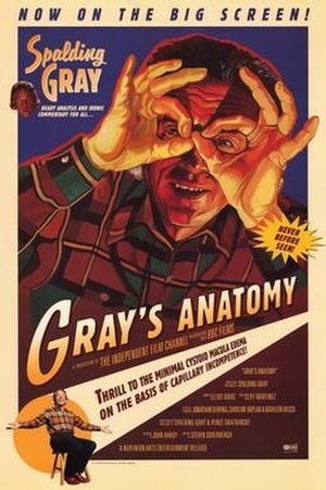 Gray's Anatomy (film) - Promotional poster