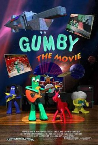 Gumby: The Movie - Theatrical release poster