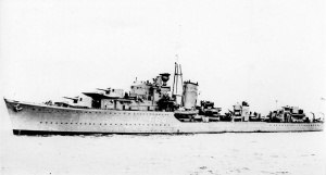 Second Battle of Sirte - Destroyer HMS Kingston suffered heavy damage from Littorios main guns during the battle, and while in drydock at Malta she was successively attacked by German bombers which further damaged her, this time beyond repair.