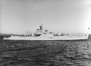 Whitby-class frigate - Image: HMS Whitby (F36)