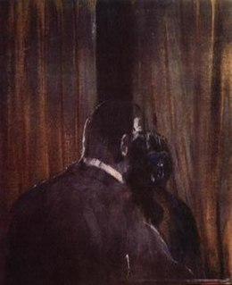 Head IV Painting by Francis Bacon